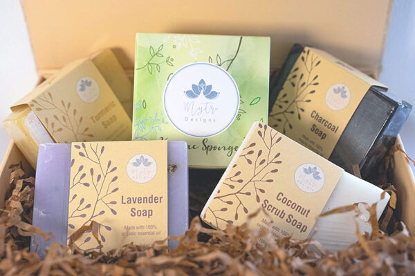 Luxury Vegan Ayurvedic Soap Collection | Self Care Package