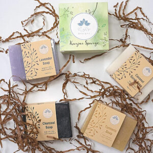 Luxury Vegan Ayurvedic Soap Collection | Self Care Package full Product Soaps