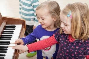 Kinder lernen Musik kennen - dank der Helmut-Behn-Stitftung