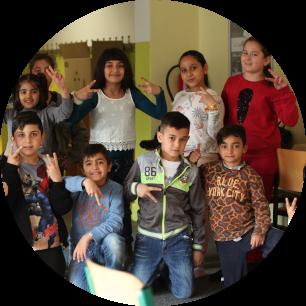 Klassenstreicher für Flüchtlingskinder