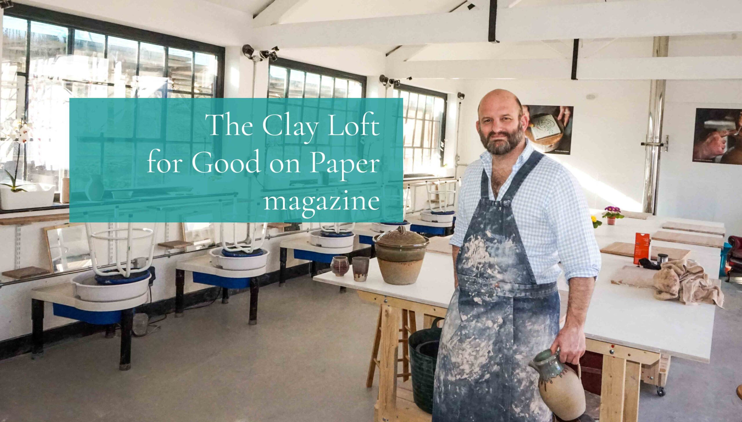 The Clay Loft for Good on Paper magazine