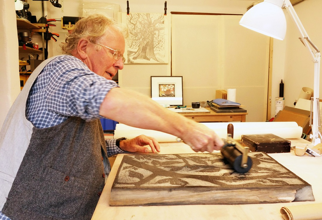 Rod NelsonRod Nelson and Woodblock Printing at Home written by Sarah Edmonds Marketing