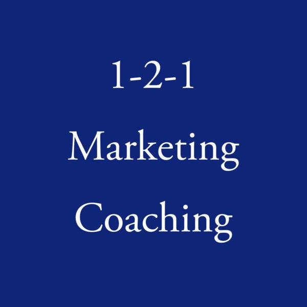 1-2-1 Marketing Coaching