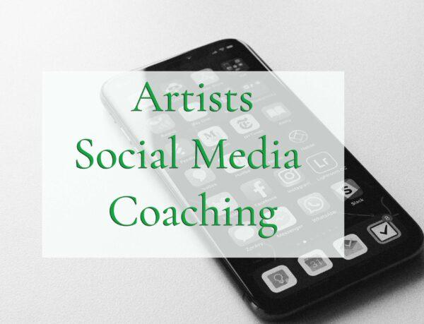 artists social media coaching