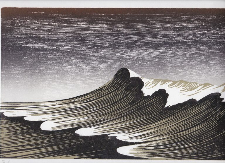 Winter Wave by Merlyn Chesterman