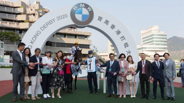 Golden Sixty wins the BMW Hong Kong Derby 2020