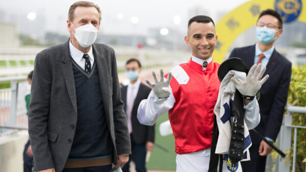 Joao Moreira reaches his 900th Hong Kong win