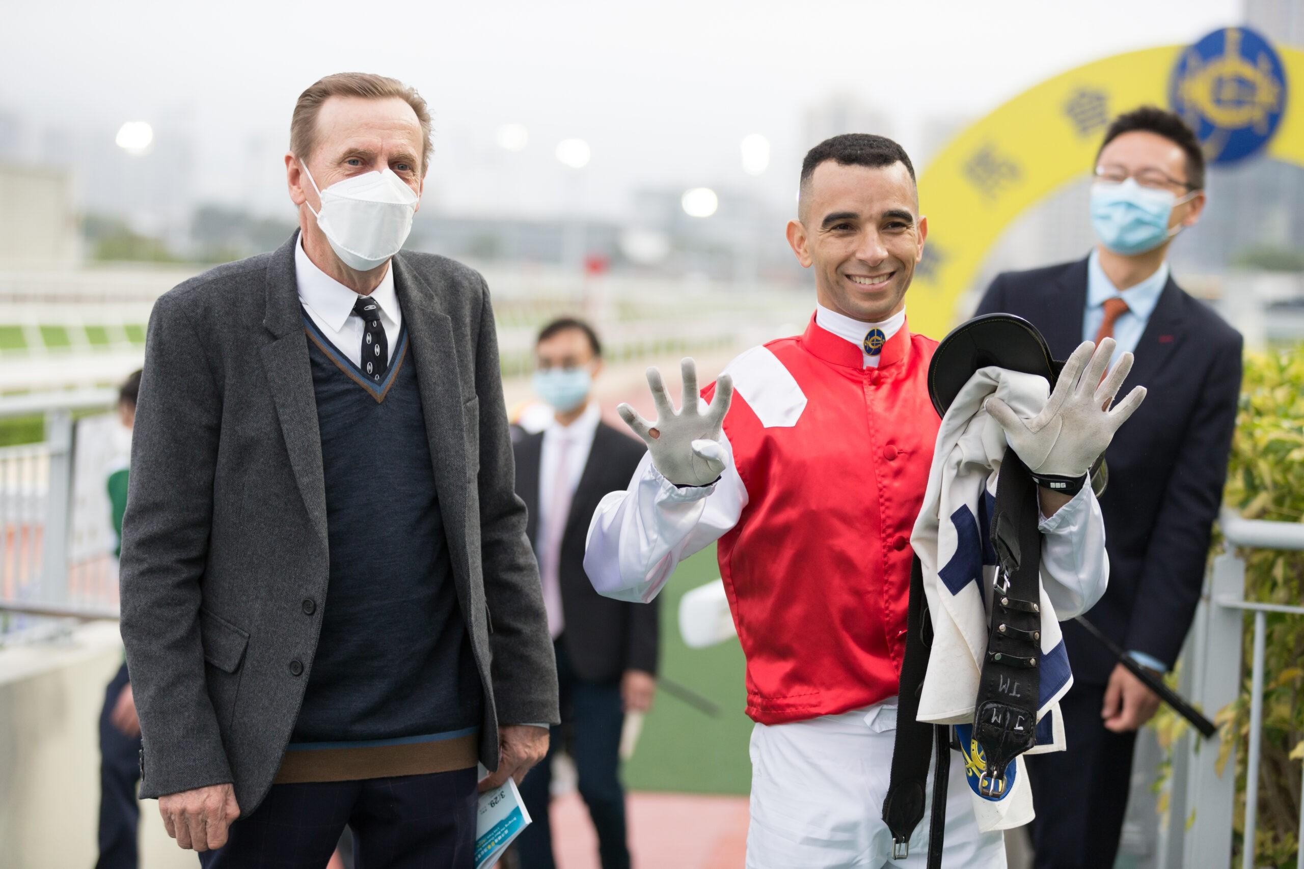 Joao Moreira reaches his 900th Hong Kong win