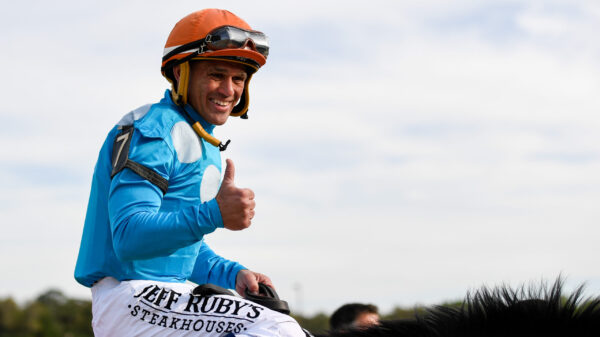 Jockey Javier Castellano has tested positive to coronavirus.