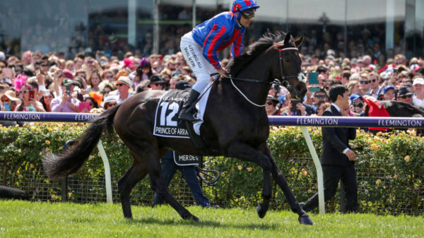 Prince of Arran at the Melbourne cup