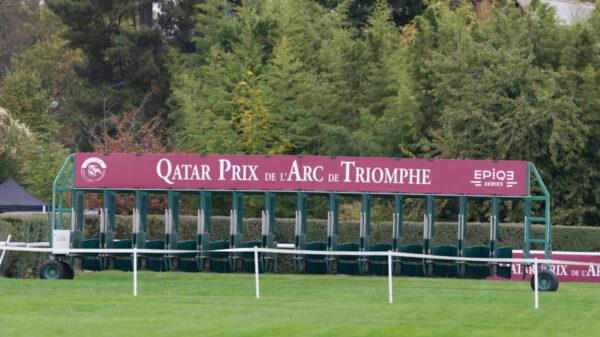 Prix de l'Arc de Triomphe race Gates