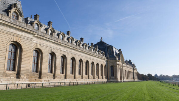 Chantilly Racecourse in France