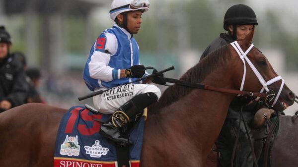 Jockey Manny Franco