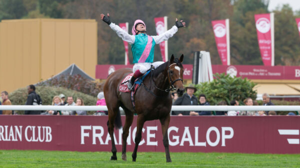 Frankie Dettori win's The Arc aboard Enable.