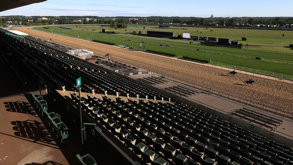 Belmont Park returns after 80-day hiatus.