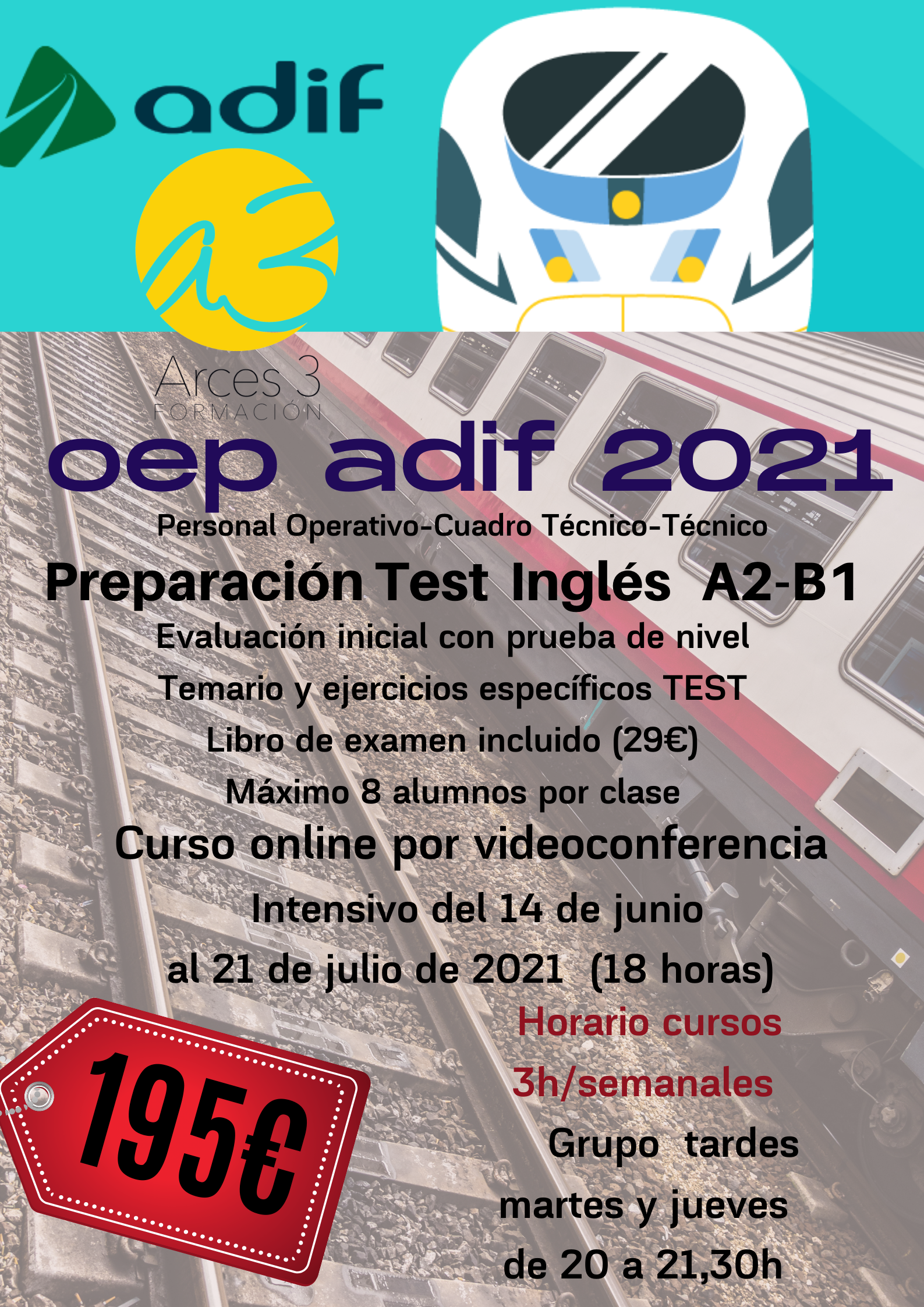Adif inglés OEP 2021
