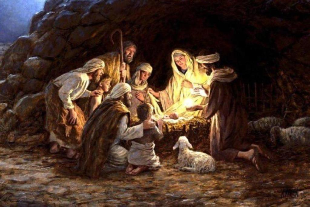 03.01.2021 Воскресная проповедь, Тема:«Рождение Иисуса Христа»
