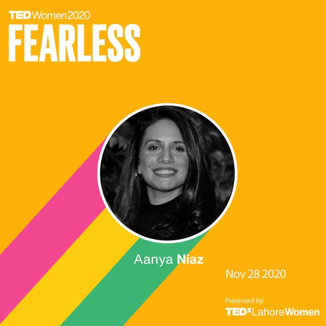 AanyaNiaz-TEDxLahore