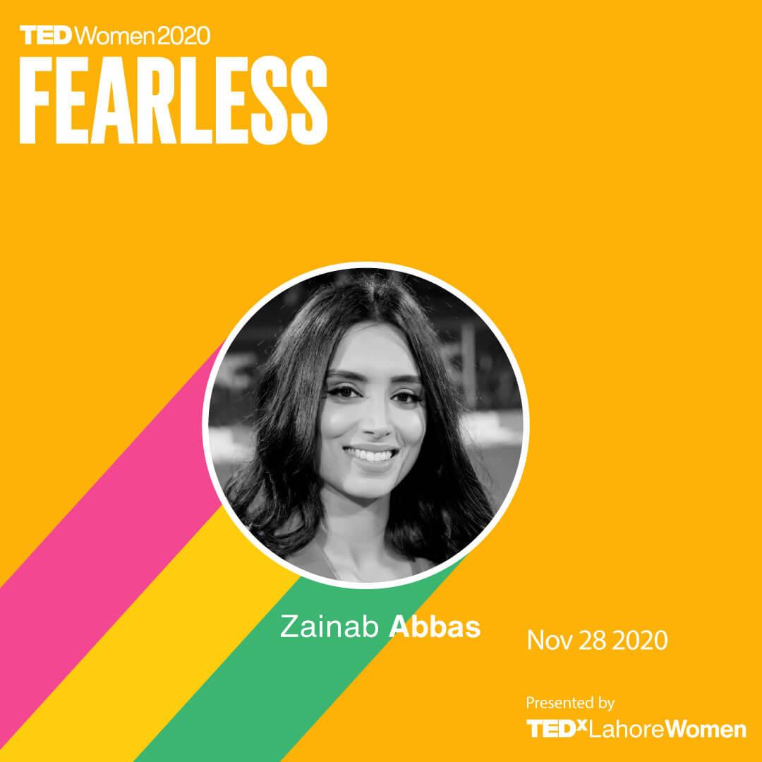 ZainabAbbas-TEDxLahoreWomen