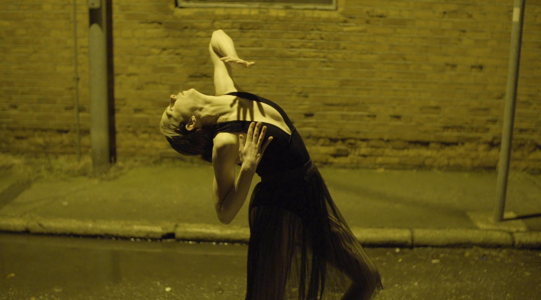 Laura Dancing in Bantum Music Video