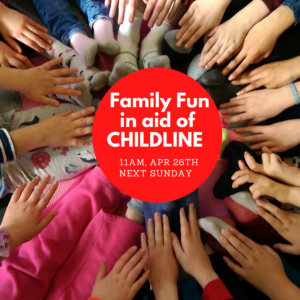 Fundraiser for CHILDLINE ISPCC by Healing Yoga