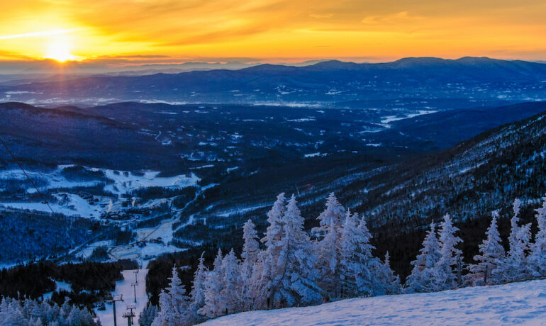 The Top 5 Ski Resorts in Vermont