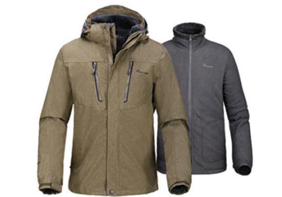 OutdoorMaster Men's 3-in-1 Ski Jacket
