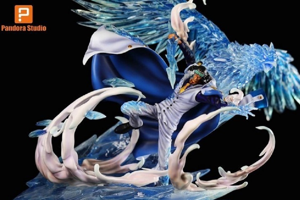 Action figure One Piece Aokiji admiral es