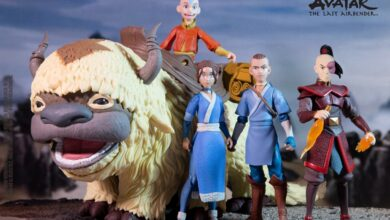 Action Figure Avatar: The Last Airbender
