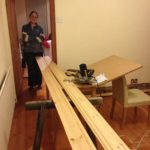 Doing the skirting boards