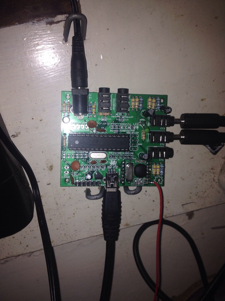 EmonTX - Arduino AC-AC, Production and consumption monitoring