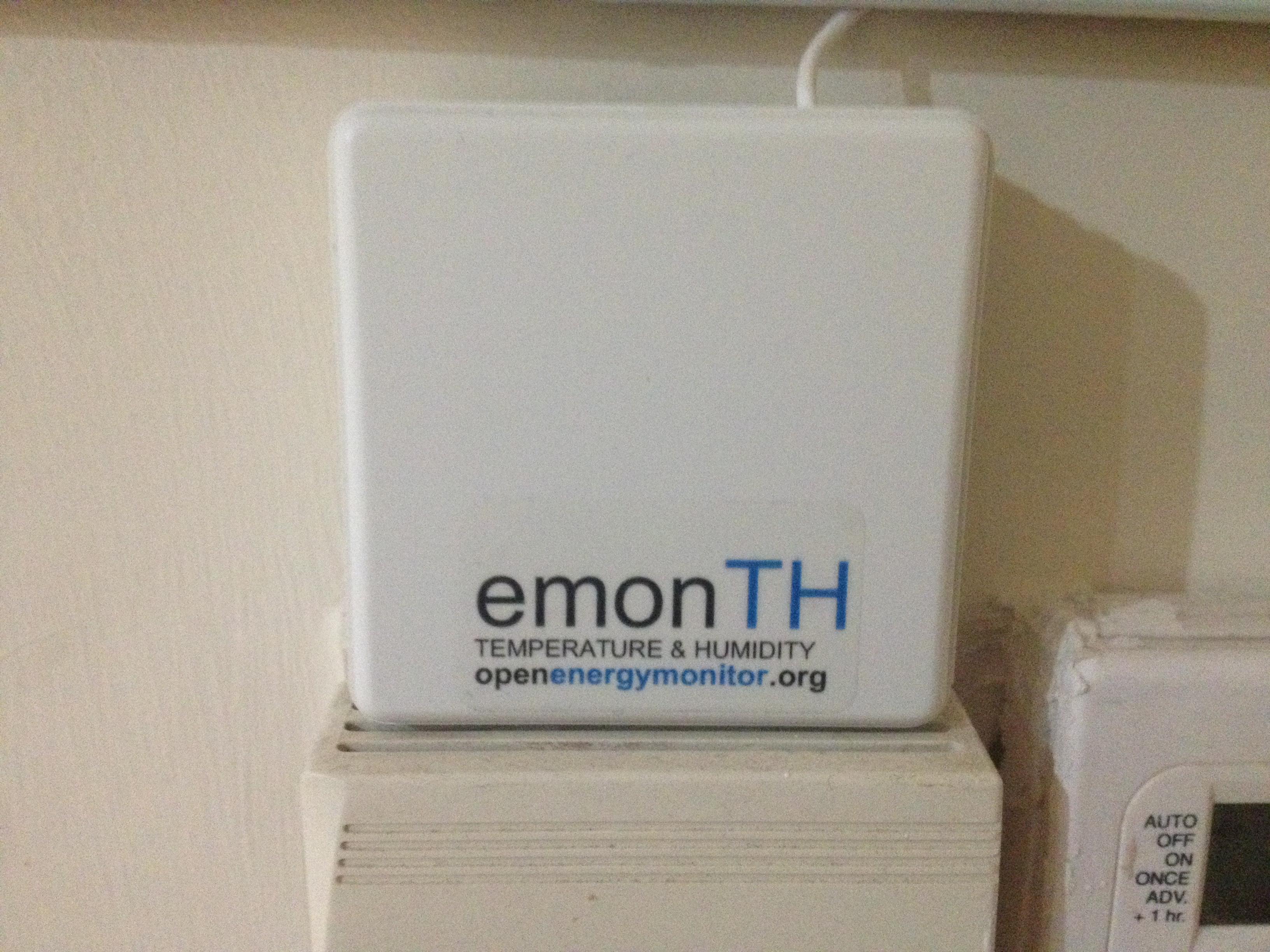 EmonTH - Humidity & Temperature node