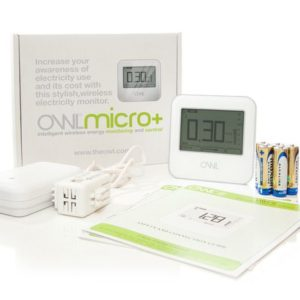 "Energy Monitor - Cost: £30 ""Owl Micro+ Wireless Energy Monitor"""
