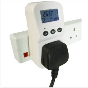 Energy Monitor How much? £10 Where to Buy: maplan (link) Key info: More Info here? An energy meter that fits a 13amp plug - allows comparison of appliance settings eg washing machine.