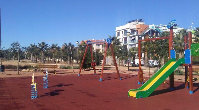parque infantil de Aguamarina