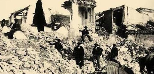 imagenes antiguas del terremoto de Torrevieja