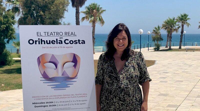 se presenta el cartel de las actuciones operisticas en Orihuela Costa