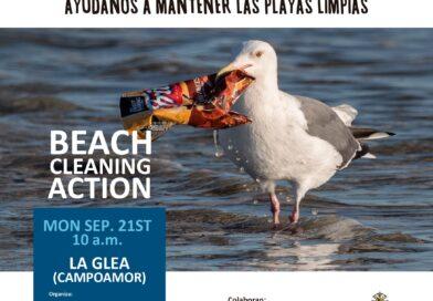 El próximo 21 de septiembre, celebraremos otra jornada de limpieza en la playa de La Glea en Campoamor
