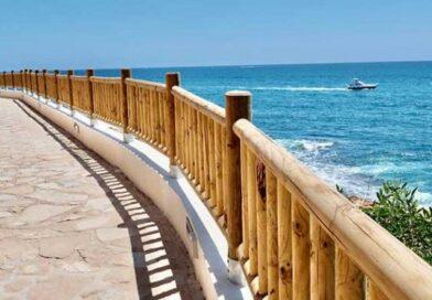 El paseo de  Cabo Roig en Orihuela Costa opta a formar parte de la red de Senderos Azules