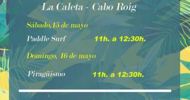 Siguen las actividades en Cabo Roig y  La Zenia