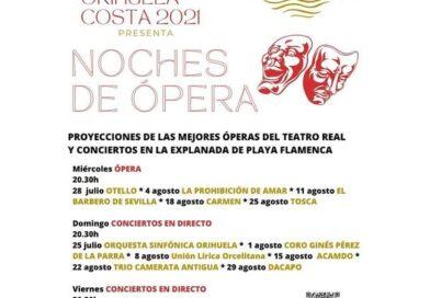 vuelve la opera  a Orihuela Costa