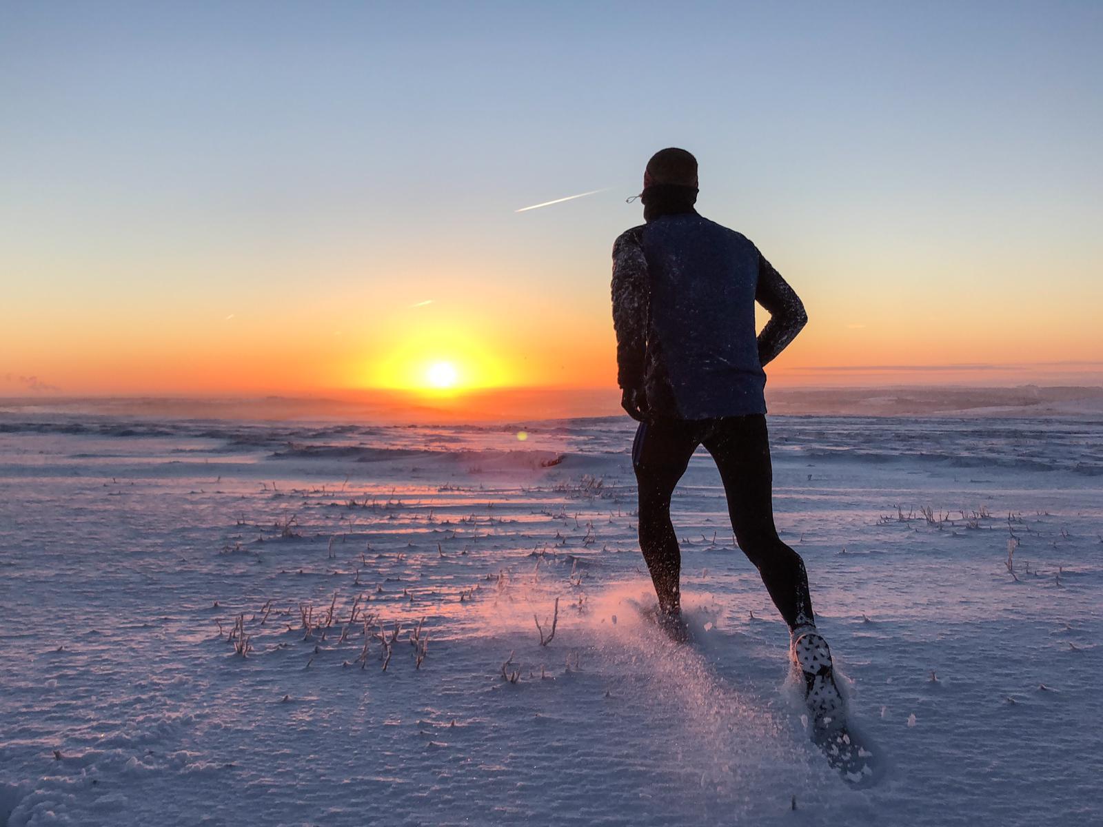 Sunrise running