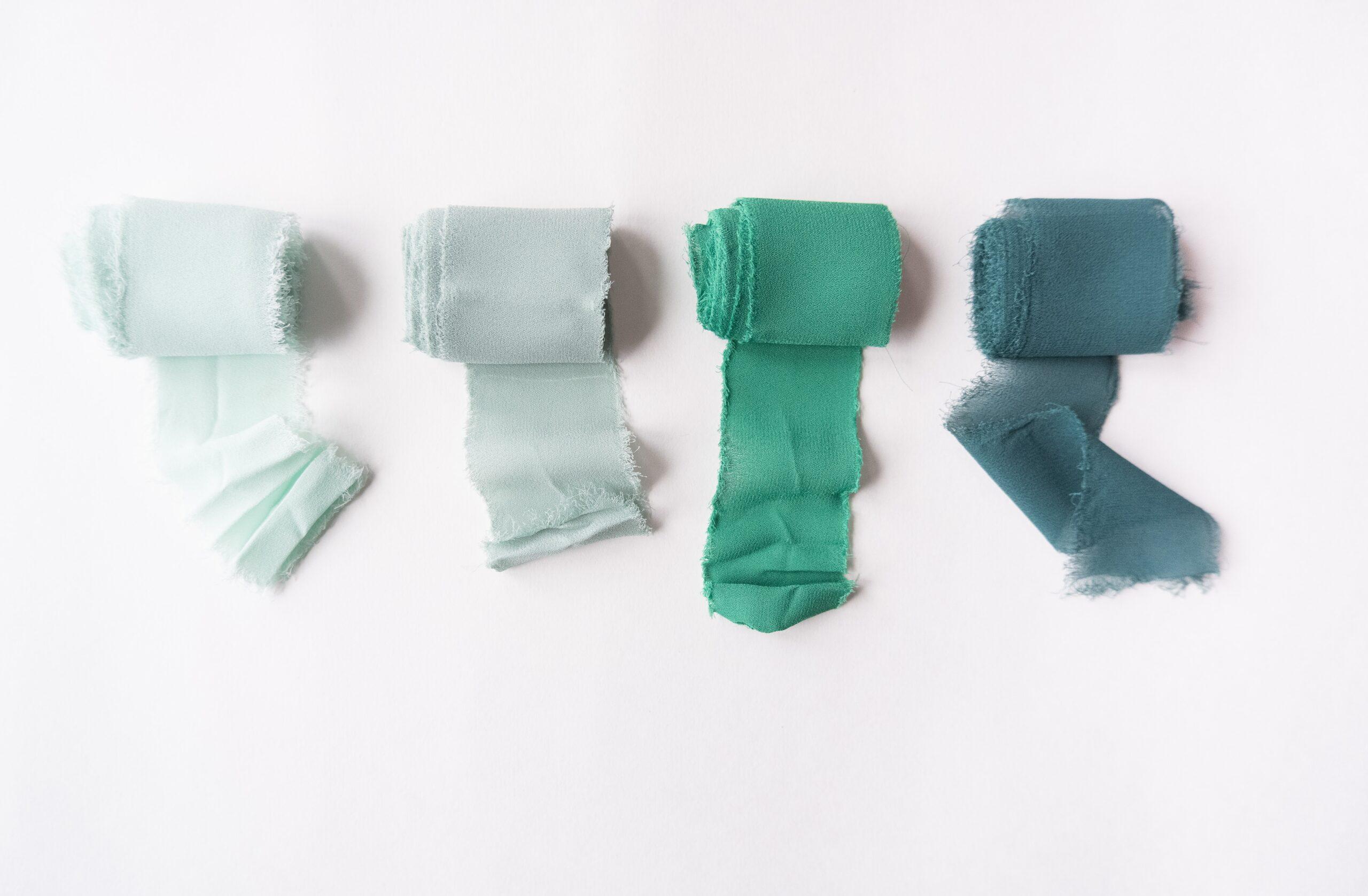 Green bandages