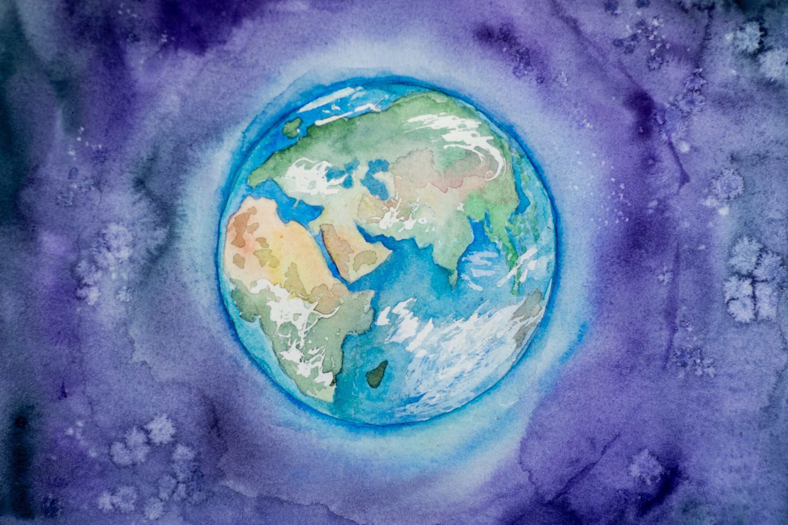 Our earth - illustration by Elena Mozhvilo