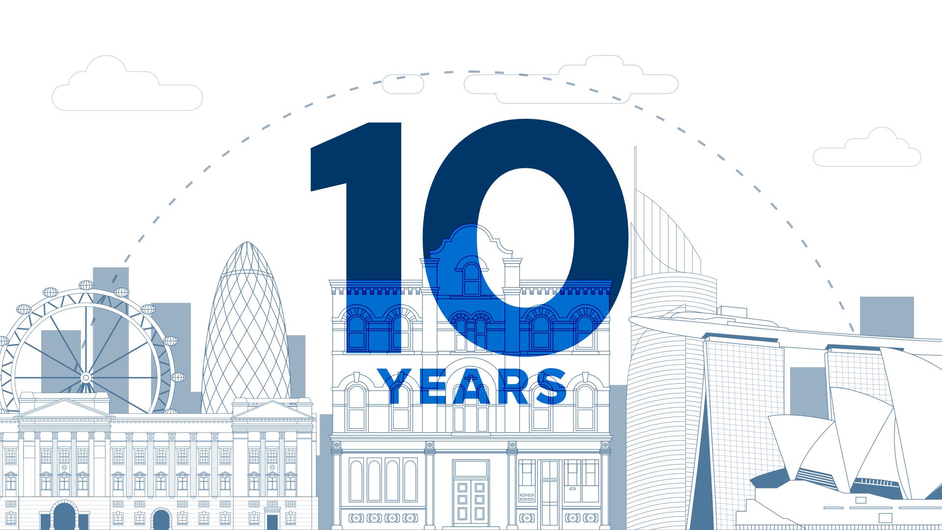 Strallen Celebrate Their 10 Year Anniversary