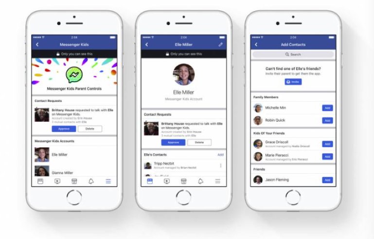 Facebook Messenger Parent Controls