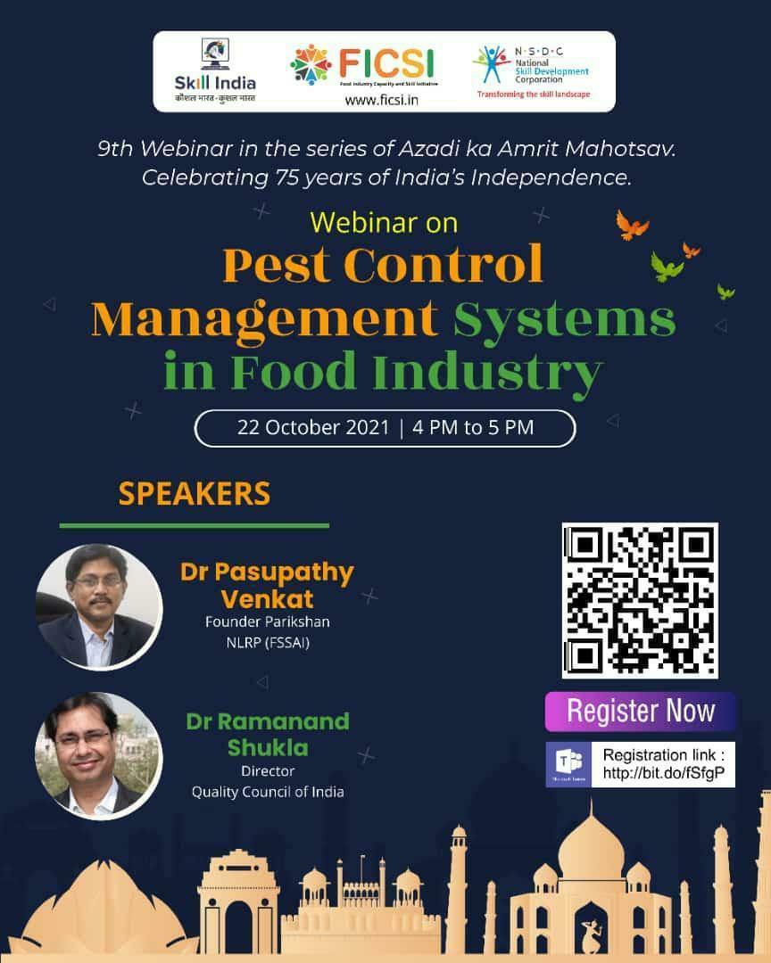 Free Online Webinars with certificate - Food Technology