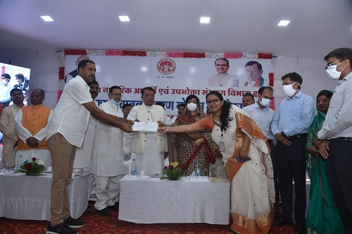 Govt of MP launches rice fortification pilot prog