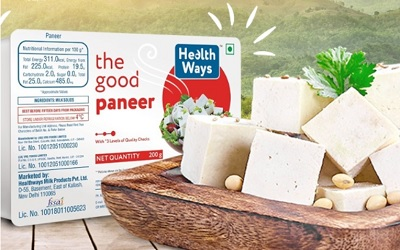 Food News 12-10-2021 - Healthways launches paneer varieties in three forms