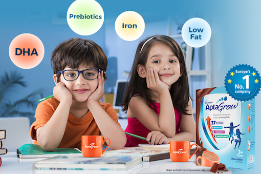 Food News 27-10-2021 - Danone expands nutrition portfolio with AptaGrow for children